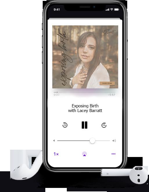 Lacey Barratt Exposing Birth Podcast